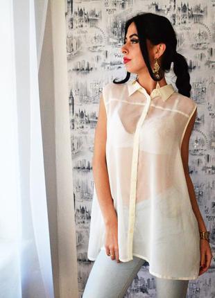 Блуза базовая размер л-хл