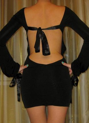 Платье denny rose с открытой спиной