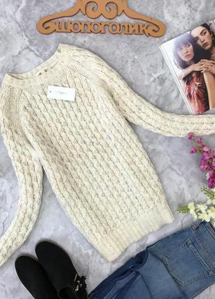 Стильный свитер крупной вязки  sh181851  new look