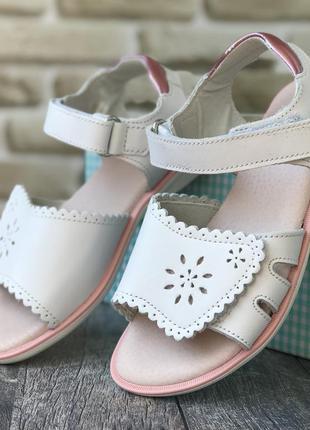 Кожаные сандалики stups