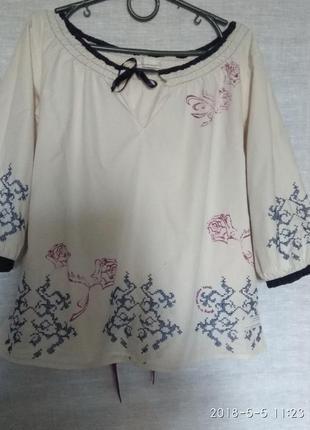 Блузка вишиванка odd molly