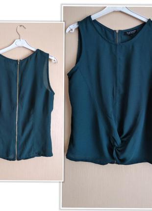 Шифонова блузка,топ topshop