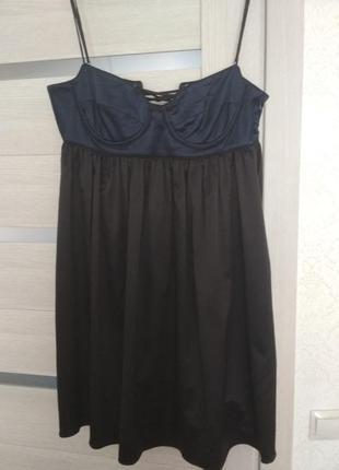 Сатиновое платье vila