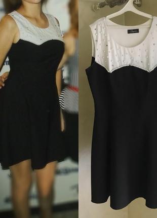 Платье черное zara