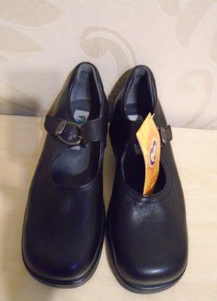 Туфли кожаные школьные р.34,стелька 22см pablosky paola