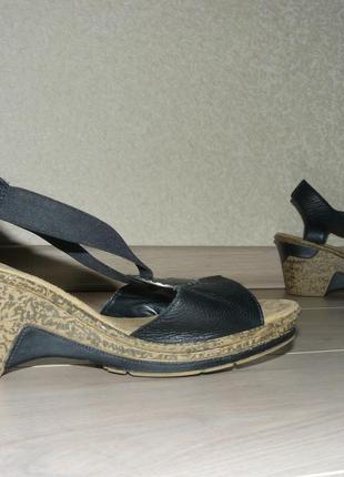 Босоножки, сандали rieker 38- 39р. кожа.
