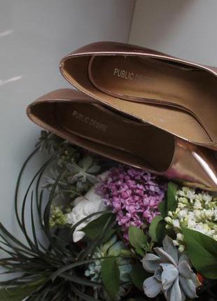 Туфли public desire, выпускные туфли, свадебные туфли, туфли лодочки, вечерние туфли.