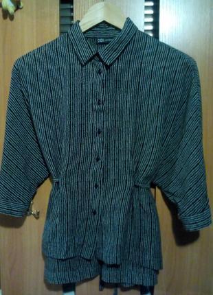 Супер блузка рубашка блейзер оверсайз didi