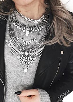 Колье афины / украшение / ожерелье / массивное / бохо / этно