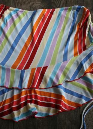 Яркая мини-юбка kookai