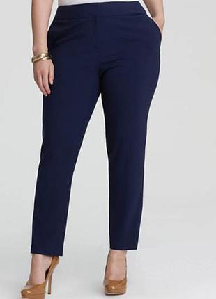 Классические, базовые брюки лето-демисезон со стрелками