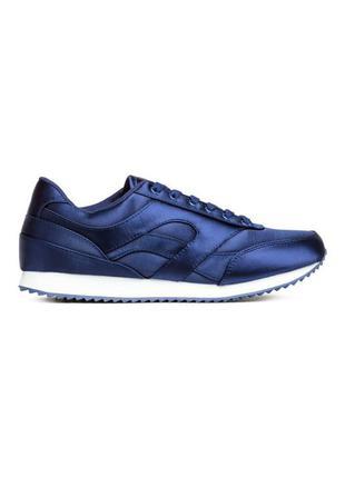 Симпатичные атласные кроссовки h&m