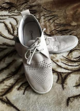Кожаные ботинки4 фото