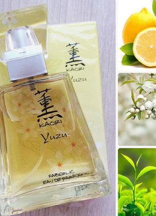 Парфюмерная вода для женщин kaori yuzu от faberlic