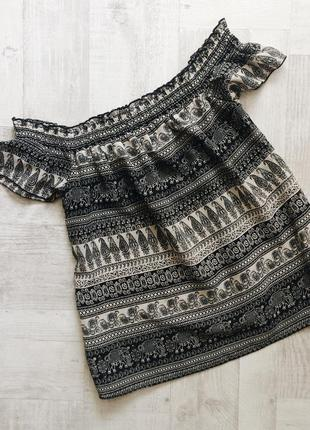 Топ, блуза с открытыми плечами atmosphere