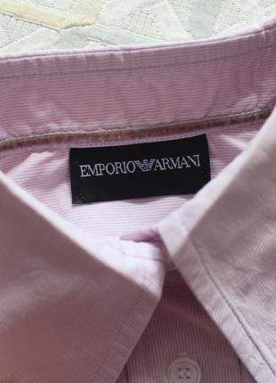 Рубашка emporio armani3 фото