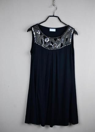 Красивое короткое черное платье от wallis
