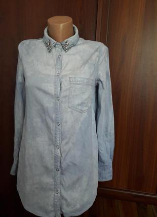 Джынсовая рубашка варенка