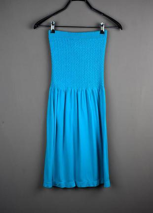 Красивое синее короткое платье от ocean club
