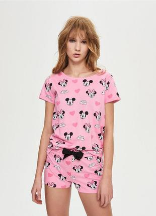 Пижама с шортами mickey mouse
