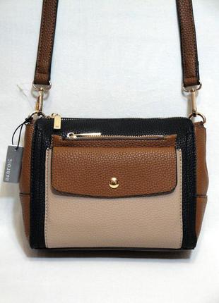 Новая стильная сумка 2в1 со съемным кошельком кроссбоди через плечо от бренда parfois