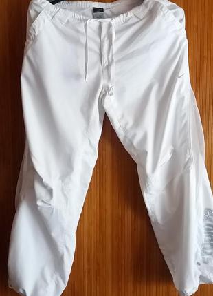 Летние спортивные штаны nike с сеткой  dri-fit р м-l