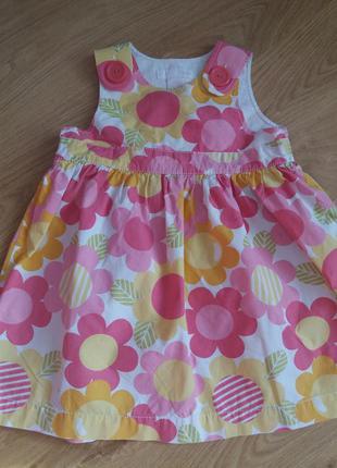 Платье сарафан рост 80