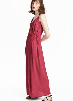 Платье макси из вискозы от h&m