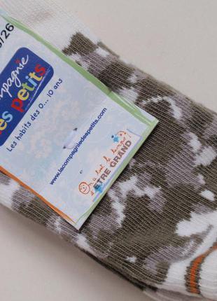 Качественные, фирменные носочки носки на мальчика lcdp- франция, р. 25-26
