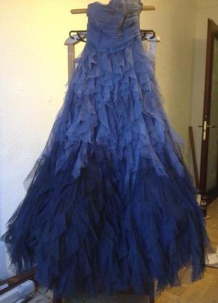 Великолепное праздничное платье от naf-naf (на выпускной или свадьбу)