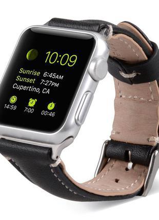 Кожаный ремешок к часам apple watch  ремешок кожаный