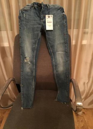 Очень классные джинсы zara