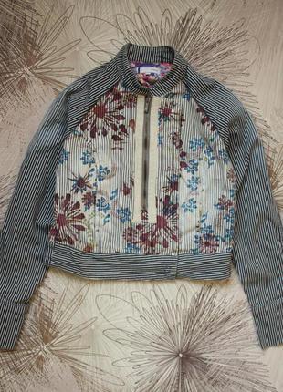 Оригинальная джинсовка джинсовая куртка