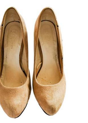 Удобные туфли на высоком каблуке2