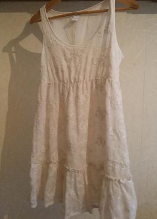 Белое платье от vila clothes