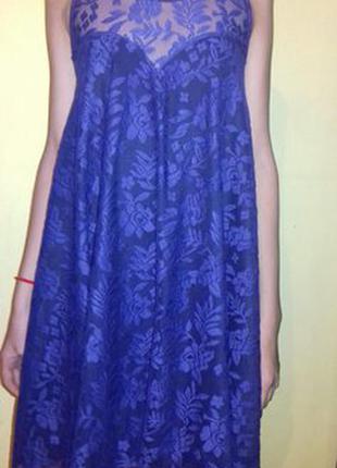 Обалденное фиолетовое платье