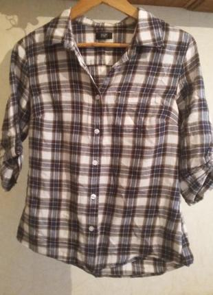 Рубашка в клетку от f&f