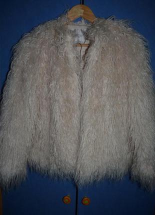 Полушубок zara trafaluc outerwear division размер s