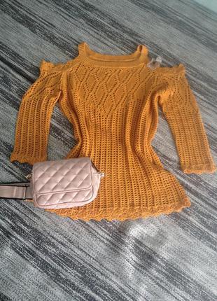 Супер-модная кофта-свитер papaya