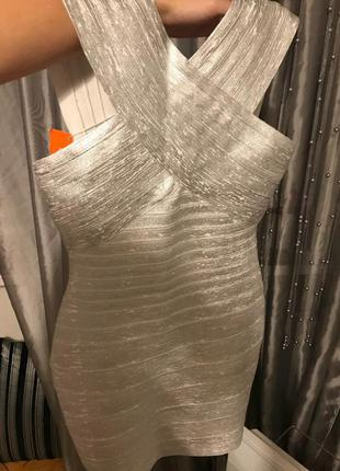 Бандажное платье3 фото