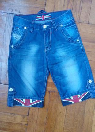 Джинсовые шорты для модника vigoocc w25 l34