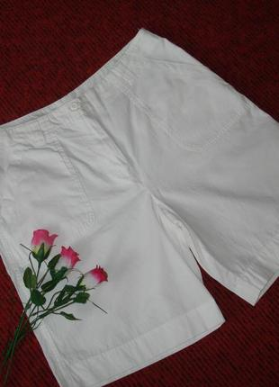 Фирменные котоновые бриджи 100% cotton, размер 42/44