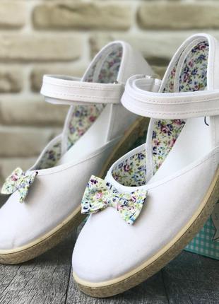 Текстильные туфельки stups (испания)