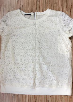 Блуза кружевная натуральная oodji за 400 грн!