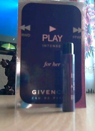Play for her intense givenchy