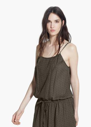 Короткое платье с вышивкой