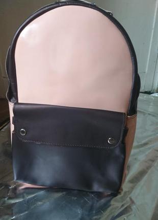 Кожаный рюкзачок ampm