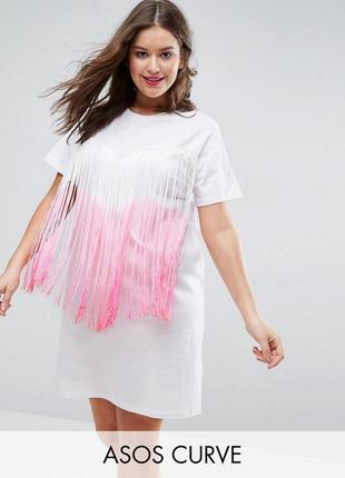 Оригінальна коротка сукня asos
