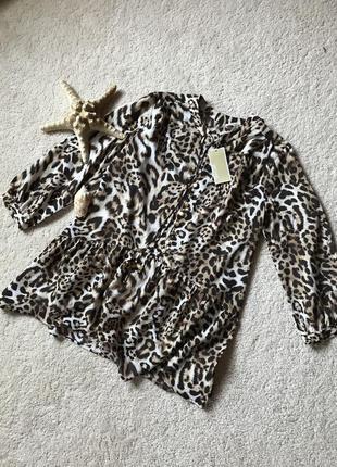 Премиум бренд 💣💣💣 michael kors🛍🎀 нежная, лёгкая блуза