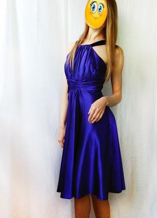 Мега крутое вечернее выпускное платье linea